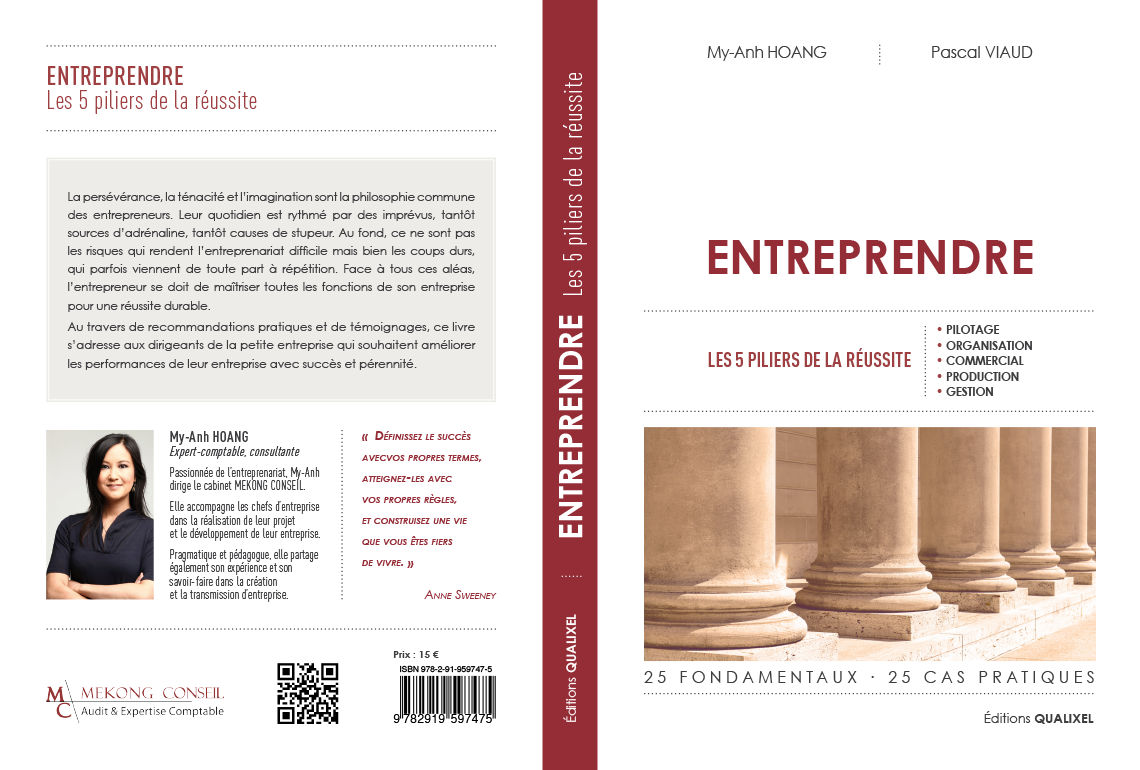 Livre Entreprendre My-Anh HOANG Pascal VIAUD